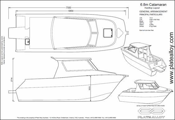 Plate Alloy Australia - Catamarans